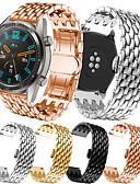 billige Smartwatch Bands-rustfritt stålbånd for huawei klokke gt / gt2 / klokke gt aktiv / klokke2 pro / 2 klassisk / ære magisk metall lenke stropp