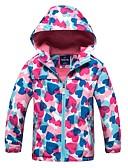 povoljno Jakne i kaputi za djevojčice-Djeca Djevojčice Osnovni Print Jakna i kaput Duga