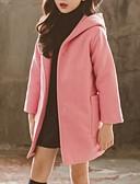 povoljno Jakne i kaputi za djevojčice-Djeca Djevojčice Osnovni Jednobojni Baloner Blushing Pink