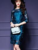 povoljno Maturalne haljine-Žene A kroj Haljina Jednobojni Do koljena