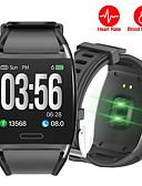povoljno Pametni satovi-Smart Satovi Šiljci za meso Moderna Sportski Silikon 30 m Vodootpornost Heart Rate Monitor Bluetooth Šiljci za meso Ležerne prilike Outdoor - Crn Obala Crvena