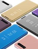 Χαμηλού Κόστους Αξεσουάρ Samsung-Πολυέξυλο έξυπνο καθρέφτη flip stand τηλέφωνο θήκη για galaxy samsung α10 α20 α20ε α30 α40 α50 α70 α90 2019