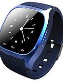 Χαμηλού Κόστους Καλώδια κινητού τηλεφώνου-m26 άνδρες γυναίκες smartwatch android bluetooth έξυπνες μακρά αναμονή θερμίδες καίγονται οθόνη καρδιακού ρυθμού αδιάβροχο ξυπνητήρι καθιστική υπενθύμιση υπνηλία ιχνηλάτης κλήση υπενθύμιση βηματόμετρο