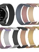 olcso Smartwatch sávok-milanese hurokszíj garmin vivoactive 4 / fenix chronos rozsdamentes acél karkötőhöz