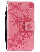 baratos Cases & Capas-Capinha Para Samsung Galaxy Note 8 / Note 4 / Note 3 Porta-Cartão Capa Proteção Completa Estampa Geométrica PU Leather / PC