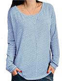 olcso Póló-Alap / Utcai sikk Női Póló - Egyszínű Fekete