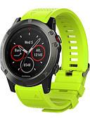olcso Smartwatch sávok-smartwatch szalag garmin quatix 5 / quatix 5 zafír / garmin 5 sportszalag szilikon csuklópánthoz
