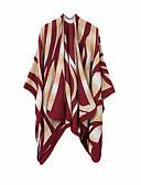 ราคาถูก ผ้าคลุมไหล่-สำหรับผู้หญิง ลายบล็อคสี พื้นฐาน - ผ้าพันคอสี่เหลี่ยมผืนผ้า