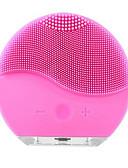baratos Capinhas para iPhone-Ultra-sônico elétrico limpeza facial escova de lavar roupa vibração removedor de cravo da pele limpador de poros massagem usb recarregável