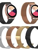 billige Smartwatch Bands-armbånd for samsung galaxy watch active2 40 / 44mm samsung galaxy / motorola milanese loop rustfritt stål armbånd