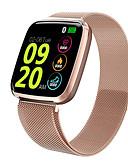 olcso Okos órák-Intelligens Watch Digitális Modern stílus Sportos 30 m Vízálló Szívritmus monitorizálás Bluetooth Digitális Alkalmi Szabadtéri - Fekete Arany Ezüst