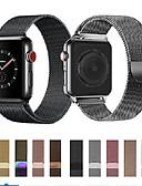 povoljno Zaštitne folije za iPhone-Pogledajte Band za Apple Watch Series 5/4/3/2/1 Apple Preklopna metalna narukvica Nehrđajući čelik Traka za ruku