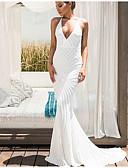 baratos Vestidos Estampados-Mulheres balanço Vestido Sólido Longo