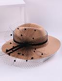 baratos Protetores de Tela para iPhone-100% Lã Chapéus com Floral 1pç Casual / Roupa Diária Capacete