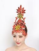 povoljno Stare svjetske nošnje-Oprema za ples Headpieces Žene Seksi blagdanski kostimi Sa šljokicama