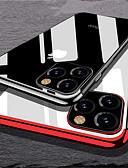 povoljno iPhone maske-Θήκη Za Apple iPhone 11 / iPhone 11 Pro / iPhone 11 Pro Max Pozlata Stražnja maska Prozirno TPU