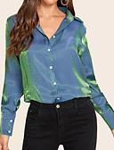 billige T-skjorter til damer-Skjorte Dame - Ensfarget Blå