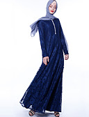 billige AirPods Cases-Arabian Voksne Dame Cosplay Fritid / hverdag Cosplay Kostumer Arabisk kjole hijab Til Fest Halloween Blonde Polyester Halloween Karneval Maskerade Kjole