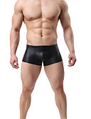 povoljno Muško egzotično rublje-muško normalno bokserice donje rublje - osnovno 1 komad niskog struka crno zlato srebro m l xl