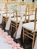 povoljno Svadbeni ukrasi-ukras za ceremoniju satena / tila iz PVC torbe - vjenčanje / zabava / večernja klasična tema / kreativno / vjenčanje