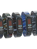 olcso Smartwatch sávok-kiváló minőségű milan álcázó heveder a xiaomi mi band 4/4-es karkötő fémhéj színes hevedereinek