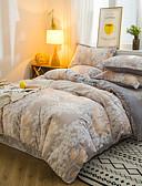 billige Bluser-varm 6d tredimensjonalt utskåret fløyel baby kashmir flanell krystallfløyel 4 stk sengetøy sett