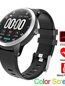 baratos Smart watch-Relógio inteligente Digital Estilo Moderno Esportivo Silicone 30 m Impermeável Monitor de Batimento Cardíaco Bluetooth Digital Casual Ao ar Livre - Preto Vermelho Azul