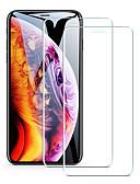 Χαμηλού Κόστους Προστατευτικά οθόνης για iPhone-Προστατευτικό οθόνης για Apple iphone 11/11 pro / 11 Pro max προστατευτικό κάλυμμα μπροστινής οθόνης από γυαλί υψηλής αντοχής (hd) / 9h σκληρότητα