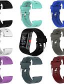ราคาถูก วง Smartwatch-ยางซิลิโคนอ่อนนุ่มนาฬิกาวงสายรัดข้อมือสำหรับขั้วโลก v800 นาฬิกาออกกำลังกาย