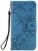 billige iPhone-etuier-Etui Til LG LG G6 / LG G5 / LG G4 Kortholder Heldekkende etui Geometrisk mønster PU Leather / PC