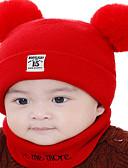ราคาถูก หมวกเด็ก-เด็ก / Toddler เด็กผู้ชาย / เด็กผู้หญิง ซึ่งทำงานอยู่ / พื้นฐาน / หวาน สีพื้น / หมายเลข สไตล์ / การถักนิตติ้ง ฝ้าย / Roman Knit หมวก สีแดงชมพู / สีเหลือง / สีน้ำเงิน ขนาดเดียว