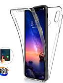 baratos Capinhas para Xiaomi-Estojo de corpo inteiro de 360 graus para xiaomi mi 9t pro mi 9 se mi 8 lite f1 a2 mi 6x case transparente pc silicone fino gel tpu capa macia para redmi k20 pro note 7 note 6 pro note 5 pro 6a 6 pro