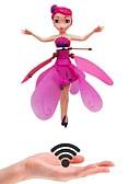 billige Pikekjoler-induksjon magiske prinsesse dukker infrarød lysoppheng flyvende dukke leker mini rc drone jente barnas gave figur leker