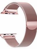baratos Bandas de Smartwatch-pulseira para apple watch series 5/4/3/2/1 apple milanese loop pulseira de aço inoxidável