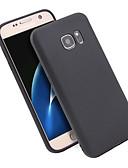 ราคาถูก เคสสำหรับโทรศัพท์มือถือ-Case สำหรับ Samsung Galaxy S7 Shockproof / Ultra-thin / Frosted ปกหลัง สีพื้น TPU