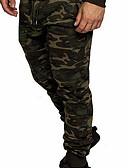 ราคาถูก จั้มสูทผู้ชาย & ชุดสวมทั้งตัว-สำหรับผู้ชาย Military กางเกง Chinos กางเกง - Camouflage Color สีดำ เทาอ่อน ใบไม้สีเขียวที่มีสามแฉก US34 / UK34 / EU42 US36 / UK36 / EU44 US38 / UK38 / EU46