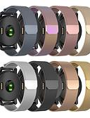 baratos Bandas de Smartwatch-pulseira de laço milanese para garmin venu / vivoactiv3 / forerunner245 / 645 / vivomove / vivomove hr pulseira de aço inoxidável