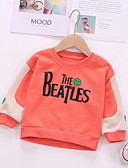 お買い得  赤ちゃん フーディーズ&スウェットシャツ-赤ちゃん 女の子 ベーシック ソリッド 長袖 フーディーズ&スウェットシャツ ホワイト
