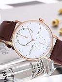 baratos Relógios-Mulheres Relógio Elegante Quartzo Couro Relógio Casual Analógico Clássico