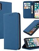 povoljno iPhone maske-Θήκη Za Apple iPhone 11 / iPhone 11 Pro / iPhone 11 Pro Max Utor za kartice Korice Jednobojni prava koža