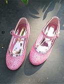 Χαμηλού Κόστους Γαμήλιες Εσάρπες-Κοριτσίστικα Λουλουδάτα φορέματα για κορίτσια Συνθετικά Τακούνια Τα μικρά παιδιά (4-7ys) / Μεγάλα παιδιά (7 ετών +) Αγκράφα Χρυσό / Ασημί / Ροζ Φθινόπωρο / Χειμώνας / Πάρτι & Βραδινή Έξοδος