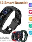 baratos Smart watch-Relógio inteligente Digital Estilo Moderno Esportivo Silicone 30 m Impermeável Monitor de Batimento Cardíaco Bluetooth Digital Casual Ao ar Livre - Preto Verde Vermelho