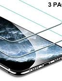 baratos Protetores de Tela para iPhone-3 pcs tampa completa de vidro temperado para iphone 11 pro 2019 no iphone xr x xs max protetor de tela vidro protetor para iphone xi xir max