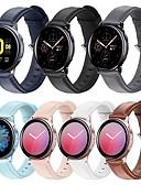 billige Smartwatch Bands-watch band for samsung galaxy watch active 2 samsung galaxy business band ekte lær armbånd