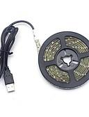 billiga Skärmskydd till Huawei-0,5 m flexibla LED-ljusremsor / ljusuppsättningar / stränglampor 30 lysdioder 2835 smd 7mm varmvit / kallvit usb / dekorativ / bröllop usb-driven 1 st