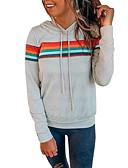olcso Női kapucnis felsők és pulóverek-Női Alkalmi / Alap Kapucnis felsőrész Egyszínű