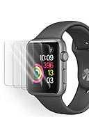 ราคาถูก ฟิล์มกันรอยสำหรับนาฬิกาอัจฉริยะ-3pack apple watch กระจกนิรภัยป้องกันหน้าจอสำหรับซีรี่ส์ 5 43 2 1 ตัวป้องกันหน้าจอ