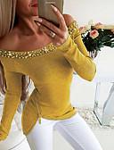 olcso Ing-Alap Női Póló - Egyszínű Sárga