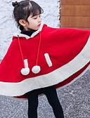 olcso Lány dzsekik és kabátok-Kisgyermek Lány Alap Színes Kollázs Zakó és dzseki Rubin