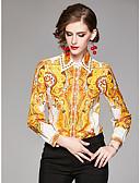 povoljno Majica-Majica Žene Dnevno Geometrijski oblici Bijela